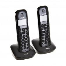 Teléfono inalámbrico DECT 6.0 con 1 extensión / identificador de llamada / despertador VT680-2 Vtech