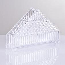 Servilletero Triangular Cristal