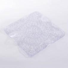 Alfombra con antideslizante para ducha Mandala