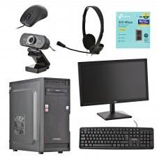 """PC AMD ATHLON 3000G 3.5GHz 4GB / 1TB / Web Cam / Wi-Fi / Windows 10 Home 19.5"""" Xtratech"""