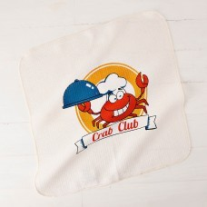 Limpión Estampado Crab Club Haus