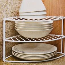 Organizador esquinero para platos 3 niveles