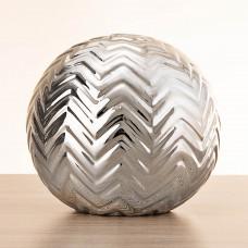 Esfera decorativa Zig Zag