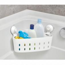 Organizador esquinero para ducha con ventosas Interdesign