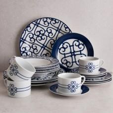 Vajilla de 20 piezas para 4 puestos Arabescos Alhambra Haus