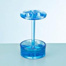 Porta cepillos Eva Azul Interdesign