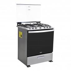 Whirlpool Cocina a gas con 6 quemadores / asador inferior / parrilla autodeslizable LWFR5010D