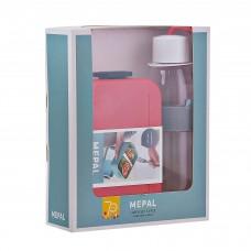 Repostero con división / Botella tomatodo con caja de regalo 2 piezas Mepal