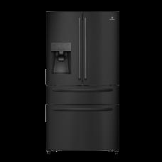Indurama Refrigerador F/D Inverter con dispensador 690L RI-995I Black