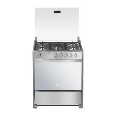 """Indurama Cocina a gas con 5 quemadores / encendido eléctrico / grill 32"""" Turin Quarzo Plus"""