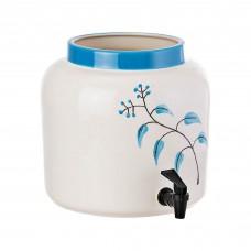 Dispensador grande para bebidas Botánica Azul