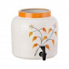 Dispensador grande para bebidas Botánica Naranja Otoño