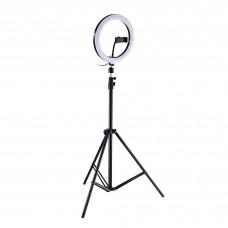 "Aro de luz LED 10"" para selfies / streaming / trípode / soporte para celular"