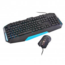 Teclado + Mouse Gaming GX-600 + GX52 Terrax