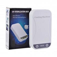 Caja esterilizadora con luz ultravioleta