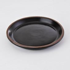 Plato para ensalada Alfarero Negro