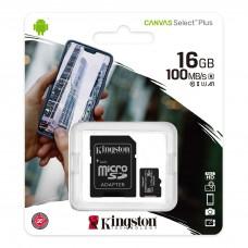 Tarjeta Micro SD Clase 10 Kingston
