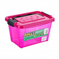 Caja organizadora con agarradera Energía Fucsia Rimax
