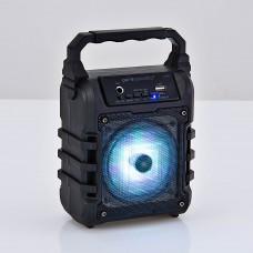 Parlante recargable Bluetooth / 3.5mm / AUX / USB / LED / USB /FM LX-10 Pure Acustic