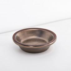 Plato para mantequilla Alfarero Bronce