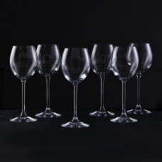 Juego de 6 copas para vino blanco Venezia Krosno Glass
