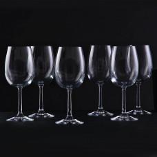 Juego de 6 copas para vino tinto Pure Krosno Glass
