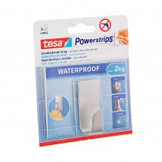 Gancho adhesivo a prueba de agua Silver Tesa