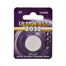 Pila de botón CR2032 3V UltraLast