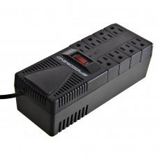 Regulador de energía 8 tomas 1200W Speedmind