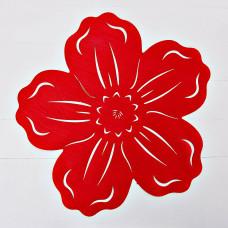 Tapete Flor Velvet Poma Rosa
