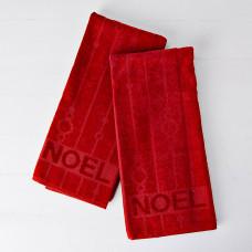Juego de 2 toallas de tocador Noel San Pedro