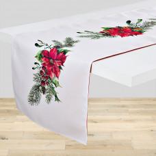 Camino de mesa Flor Navidad Haus