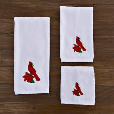 Juego de 3 toallas Pájaro Cardenal San Pedro