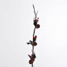 Rama Palito con Piñas Ciprés Belinda Flowers