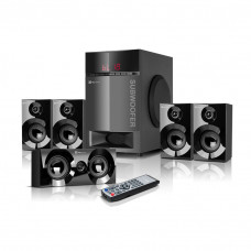 Parlante para PC BT / USB Dispaly Digital 115W 5.1 KWS-751