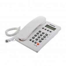 Teléfono alámbrico con identificador de llamadas / Altavoz / Calculadora DI-CID300H Daewoo