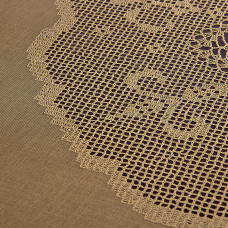 Mantel Crochet Dorado Haus