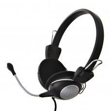 Audífonos para computador con control de volumen 3.5mm QQ-05