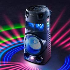 Sony Parlante para fiesta 360° 1440W / BT / NFC / USB / HDMI / Luz / DVD MHC-V73