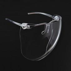 Protector facial Globo ultra liviano con gafa transparente