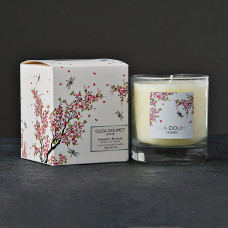 Vela vaso Romantic Blossom Olga Doumet