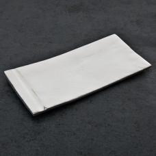 Plato Porta toalla de papel de baño Raya Vertical Peltre