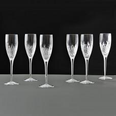 Juego de 6 copas Champagne Incanto Bormioli