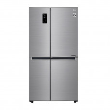 LG Refrigerador S/S Inverter con luz LED / Smart Diagnosis 31' LS87MDP
