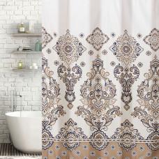 Cortina de baño con ganchos Arabesco Haus