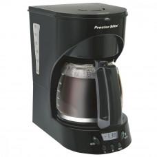 Cafetera programable con temporizador / apagado automático 12 tazas Proctor Silex