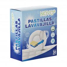 Detergente para lavavajillas Pastillas x30 Novo