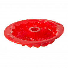 Molde cono redondo bajo de silicón