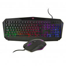 Teclado + Mouse gaming con luz LED MT-C510 Meetion