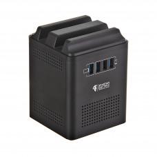 Regulador de energía 12200VA / 4 salidas / 4 USB Spartan Electronics